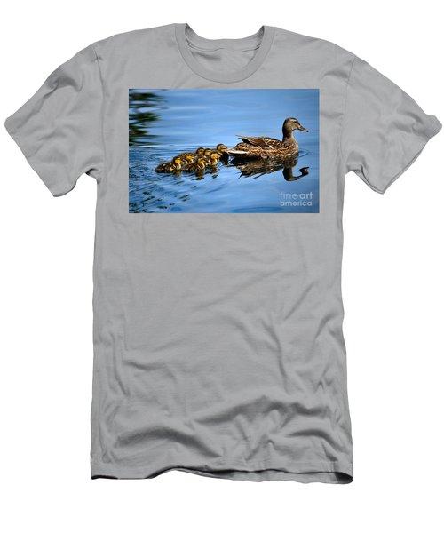 Family Swim Men's T-Shirt (Athletic Fit)