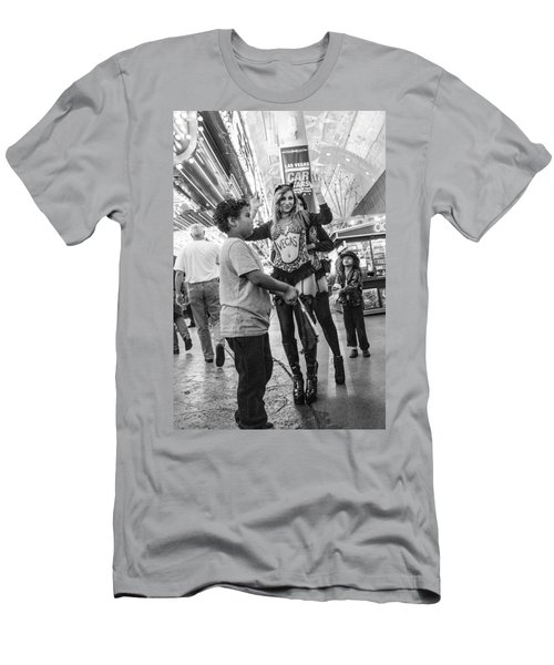 Fanning The Sex Kittens Men's T-Shirt (Athletic Fit)