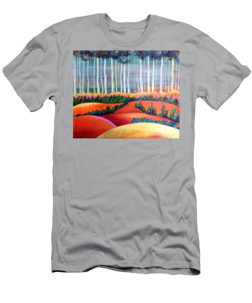 Through The Mist Men's T-Shirt (Slim Fit) by Elizabeth Fontaine-Barr