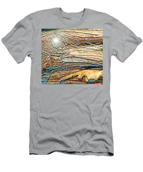 Men's T-Shirt (Slim Fit) featuring the photograph Fantasy Island by Lenore Senior