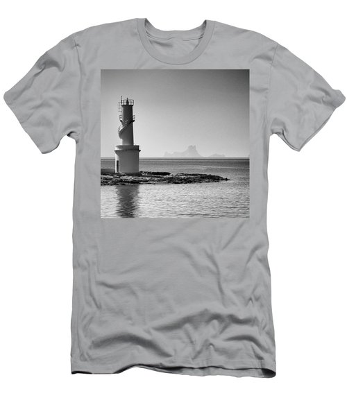 Far De La Savina Lighthouse, Formentera Men's T-Shirt (Athletic Fit)