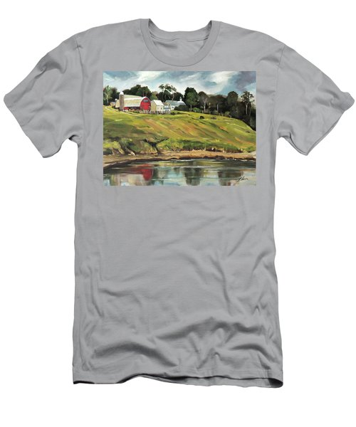 Farm At Four Corners Men's T-Shirt (Athletic Fit)
