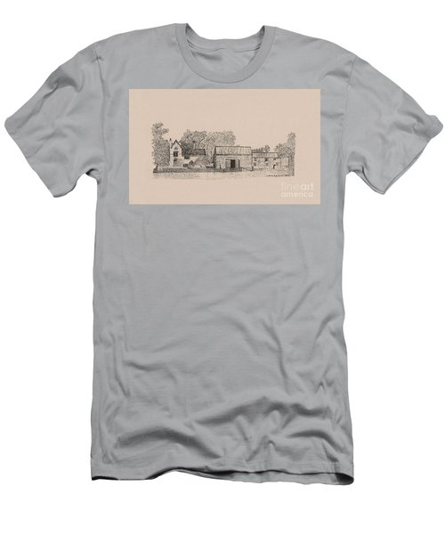 Farm Dwellings Men's T-Shirt (Athletic Fit)