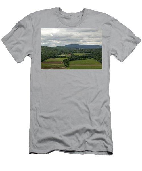 Farm Land Men's T-Shirt (Athletic Fit)
