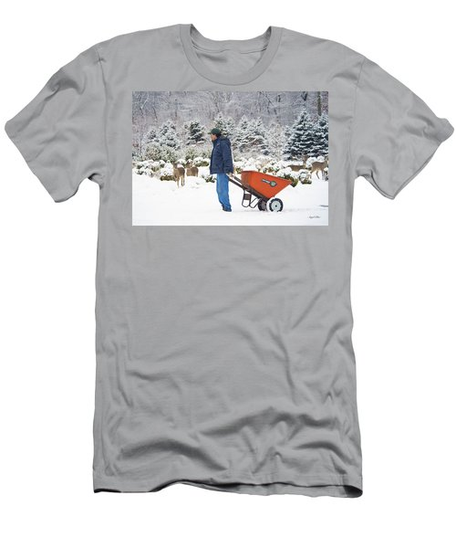 Men's T-Shirt (Athletic Fit) featuring the photograph Farmlife by Angel Cher