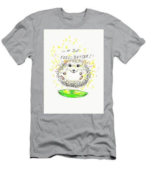 Feel Better Men's T-Shirt (Slim Fit) by Denise Fulmer