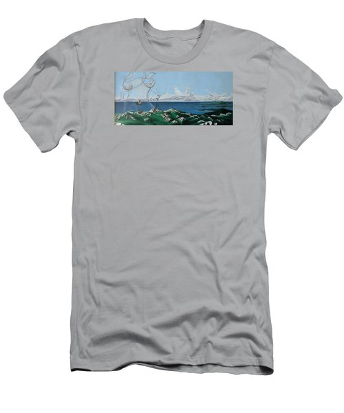 Feminine Landscape Men's T-Shirt (Athletic Fit)