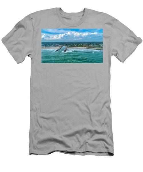 Fenway Beach, Weekapaug,ri Men's T-Shirt (Athletic Fit)