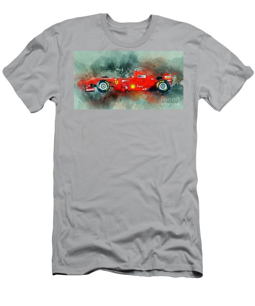 Ferrari F1 Men's T-Shirt (Athletic Fit)