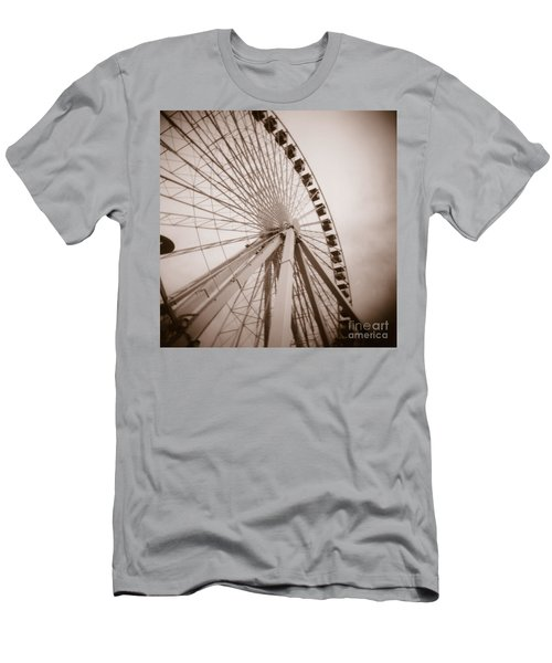 Ferris Wheel Men's T-Shirt (Athletic Fit)
