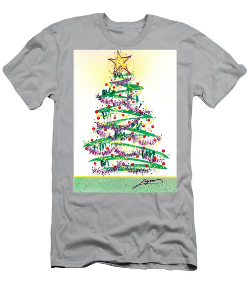 Festive Holiday Men's T-Shirt (Athletic Fit)