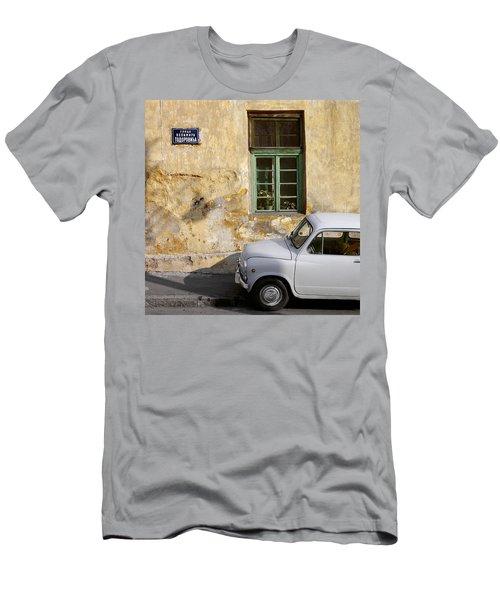 Fiat 600. Belgrade. Serbia Men's T-Shirt (Athletic Fit)