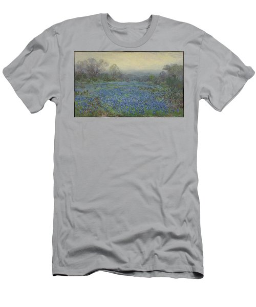 Field Of Bluebonnets Men's T-Shirt (Slim Fit) by Julian Onderdonk
