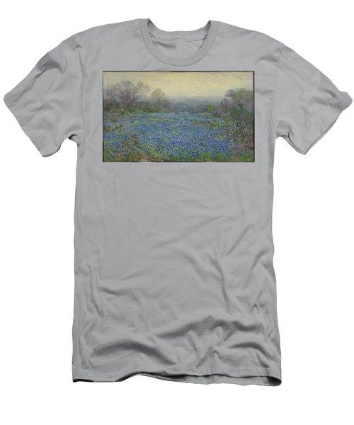 Field Of Bluebonnets Men's T-Shirt (Athletic Fit)