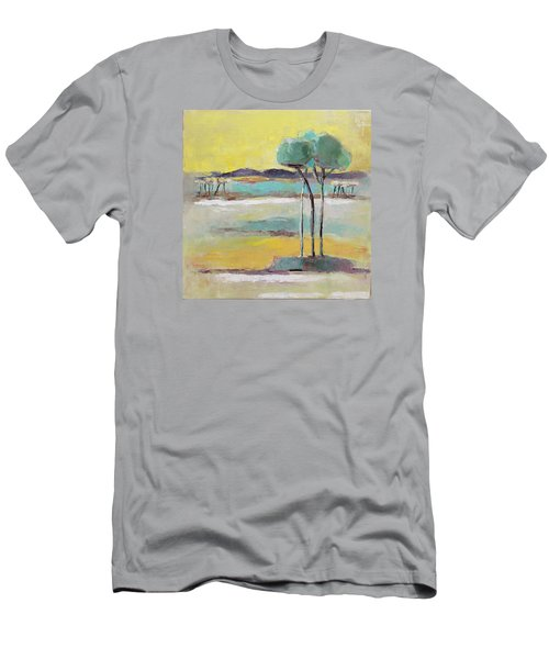 Standing In Distance Men's T-Shirt (Slim Fit) by Becky Kim