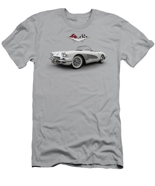 Fifty-eight Corvette Men's T-Shirt (Athletic Fit)