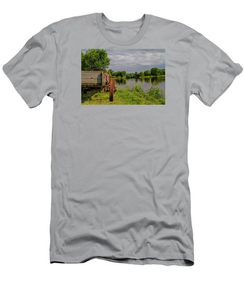 Final Stop Men's T-Shirt (Slim Fit) by Alana Thrower