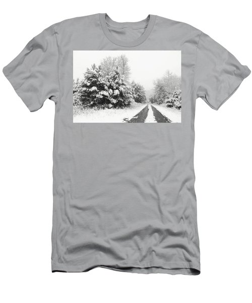Men's T-Shirt (Slim Fit) featuring the photograph Find A Pretty Road by Lori Deiter