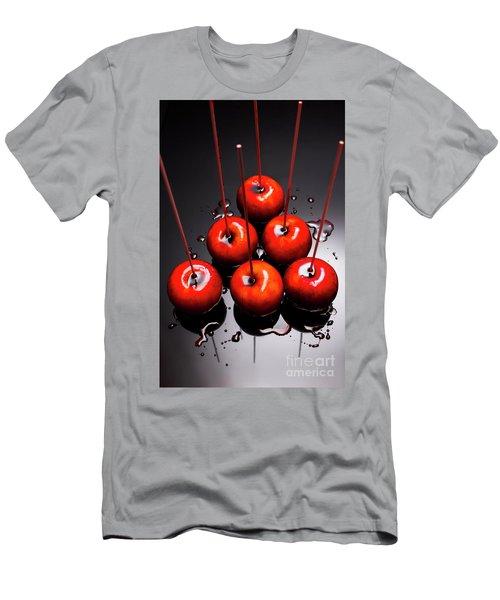 Fine Art Toffee Apple Dessert Men's T-Shirt (Athletic Fit)