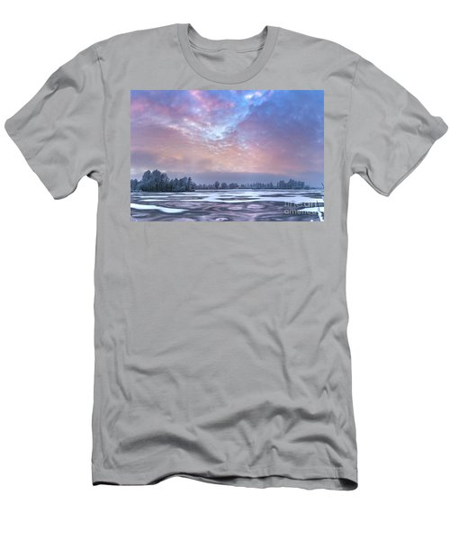 Fire And Ice Men's T-Shirt (Slim Fit)