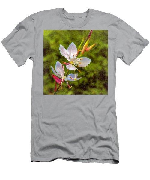 Firecracker Flower Men's T-Shirt (Athletic Fit)