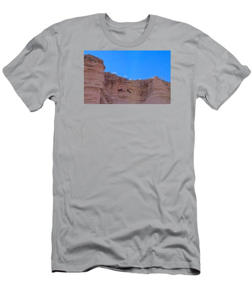 Men's T-Shirt (Slim Fit) featuring the photograph First Date by Brenda Pressnall