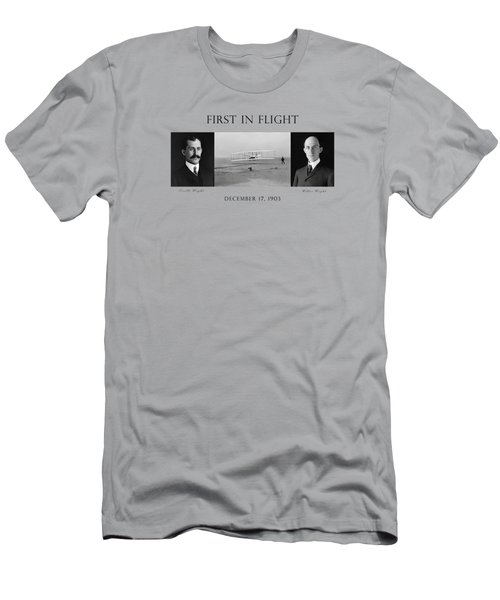 First In Flight - The Wright Brothers Men's T-Shirt (Athletic Fit)