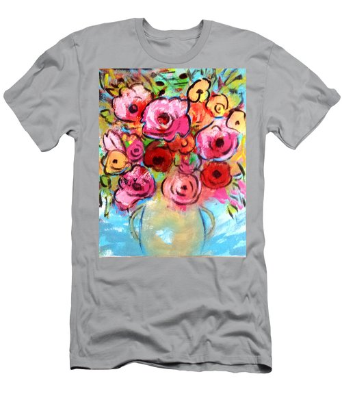 First Roses Of Summer Men's T-Shirt (Athletic Fit)