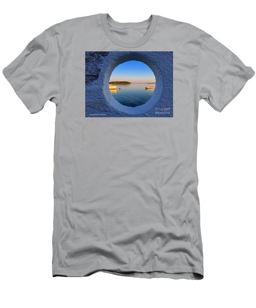 Fishermen Village- Italy Men's T-Shirt (Athletic Fit)