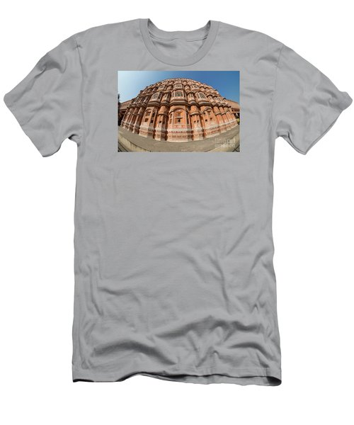 Men's T-Shirt (Athletic Fit) featuring the photograph Fisheye View Of Hawa Mahal by Yew Kwang
