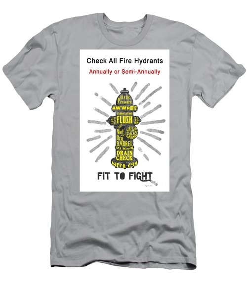 Fit To Fight Men's T-Shirt (Slim Fit) by Megan Dirsa-DuBois