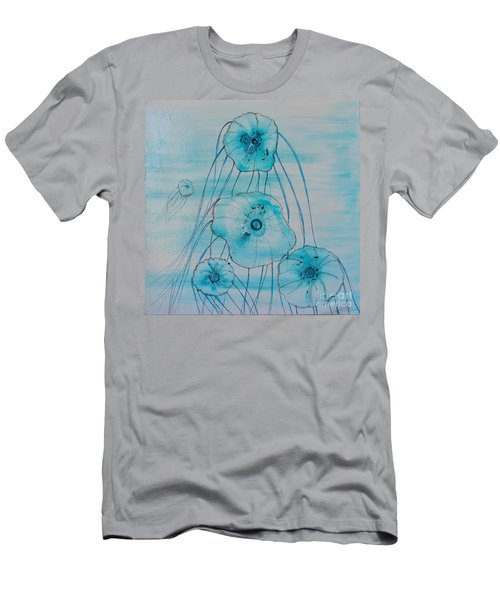 Men's T-Shirt (Athletic Fit) featuring the painting Five Jelly Family by Kim Nelson