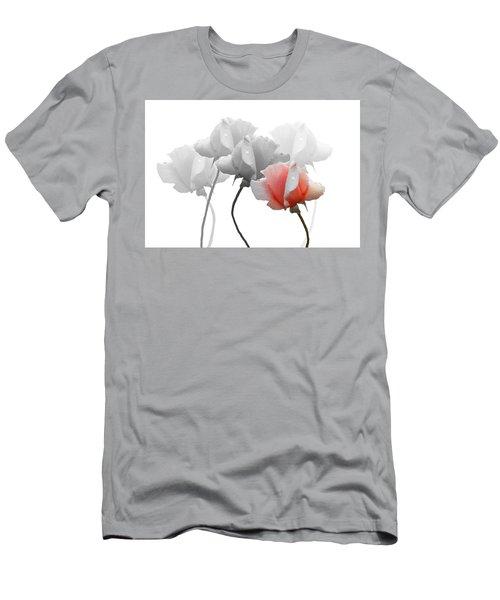 Five Roses Men's T-Shirt (Slim Fit) by Rosalie Scanlon