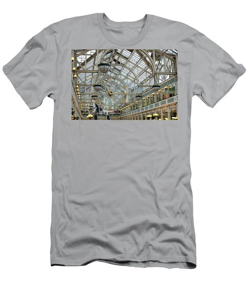 Five To Three - At St. Stephens Green Shopping Centre In Dublin Men's T-Shirt (Athletic Fit)