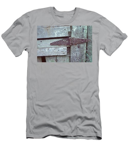 Men's T-Shirt (Slim Fit) featuring the photograph Fixed by Laurie Stewart