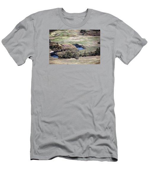 Flathead River 3 Men's T-Shirt (Slim Fit) by Janie Johnson