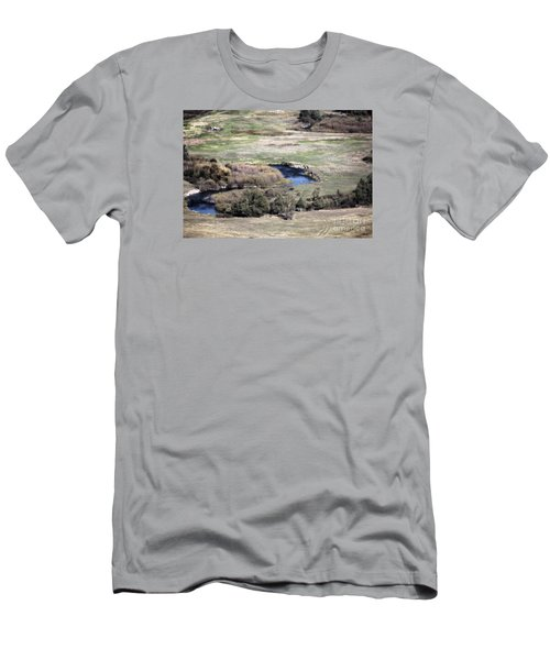 Flathead River 3 Men's T-Shirt (Athletic Fit)