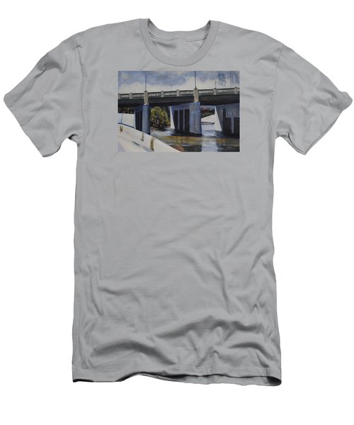 Fletcher Street Bridge Men's T-Shirt (Athletic Fit)