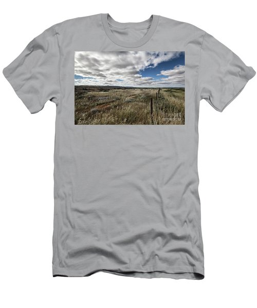 Flinders Ranges Fields V2 Men's T-Shirt (Slim Fit) by Douglas Barnard