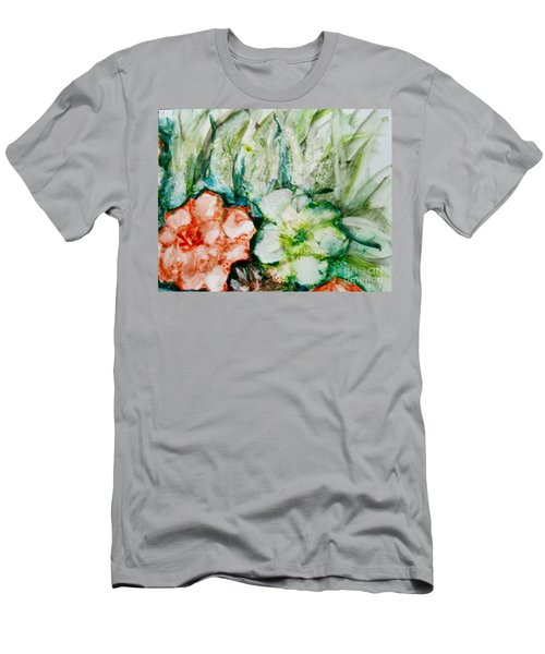 Floating Flowers 3 Men's T-Shirt (Slim Fit) by Laurie Morgan
