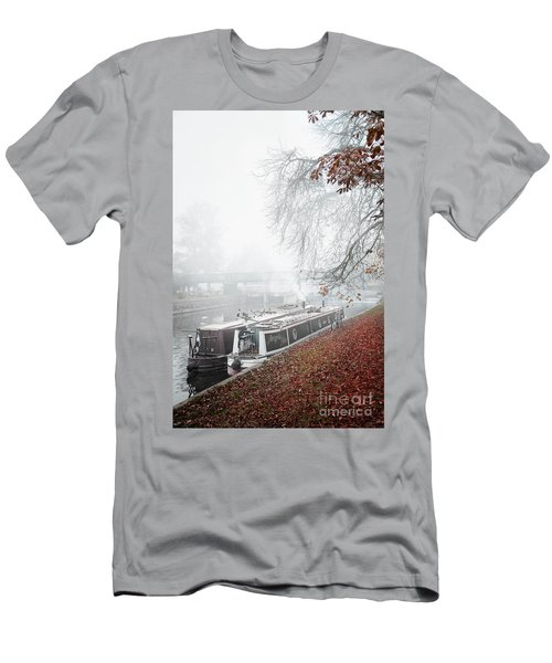 Floating Homes Of  River Cam Men's T-Shirt (Slim Fit) by Eden Baed