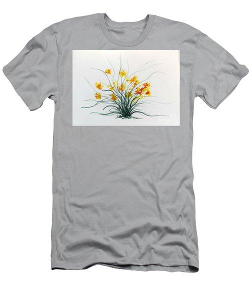 Floral 2 Men's T-Shirt (Athletic Fit)