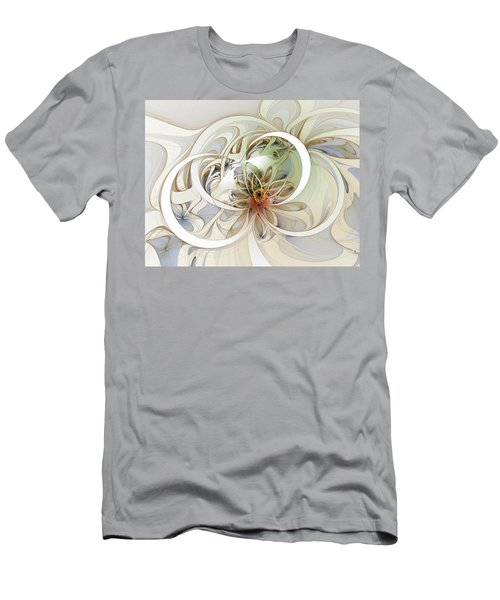 Floral Swirls Men's T-Shirt (Athletic Fit)
