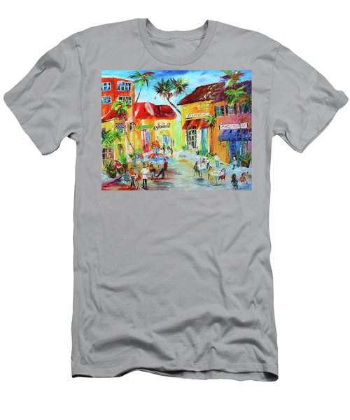 Florida Cafe Men's T-Shirt (Athletic Fit)