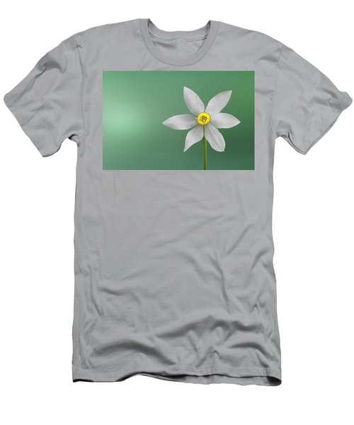 Flower Paradise Men's T-Shirt (Slim Fit) by Bess Hamiti