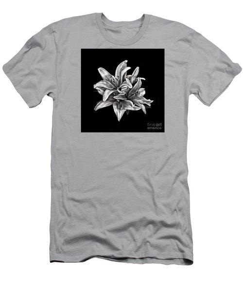 Flowers 8449 Men's T-Shirt (Slim Fit) by Walt Foegelle