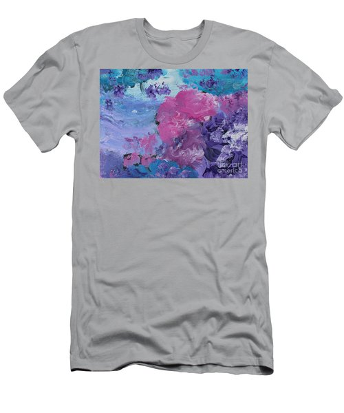 Flowers In The Clouds Men's T-Shirt (Athletic Fit)