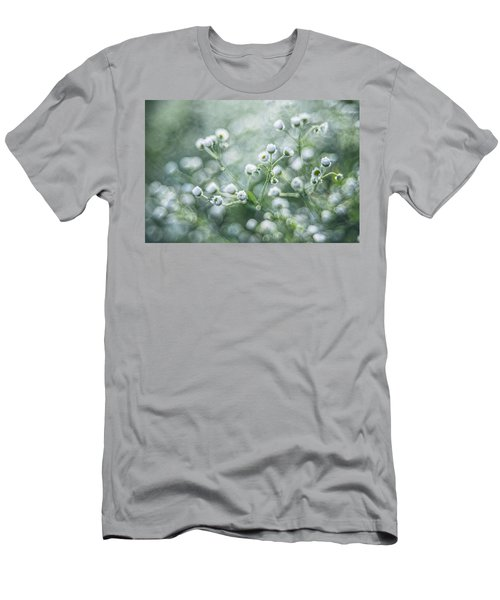 Men's T-Shirt (Slim Fit) featuring the photograph Flowers by Jaroslaw Grudzinski