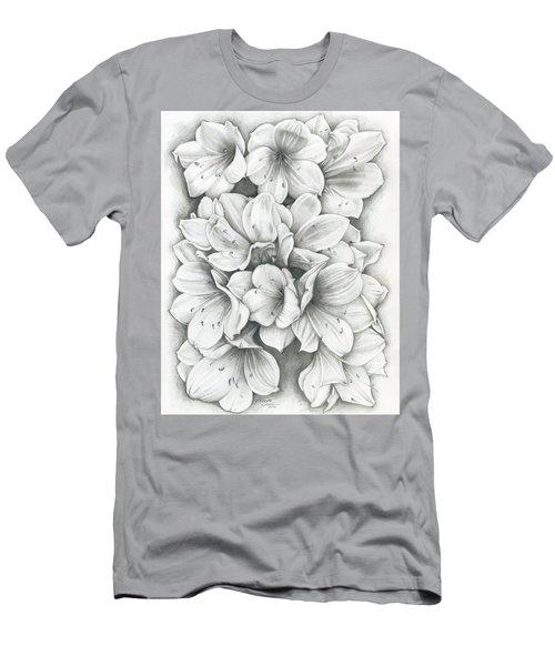 Clivia Flowers Pencil Men's T-Shirt (Athletic Fit)