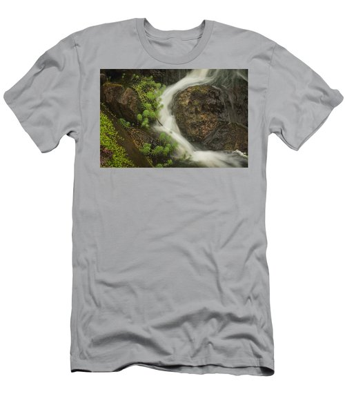 Flowing Stream Men's T-Shirt (Athletic Fit)
